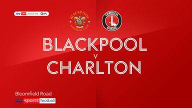 Blackpool 0-1 Charlton