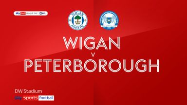 Wigan 0-1 Peterborough
