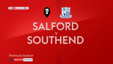 Salford 3-0 Southend