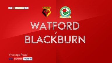 Watford 3-1 Blackburn