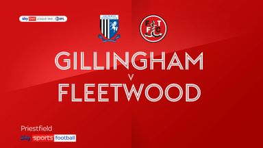 Gillingham 0-2 Fleetwood