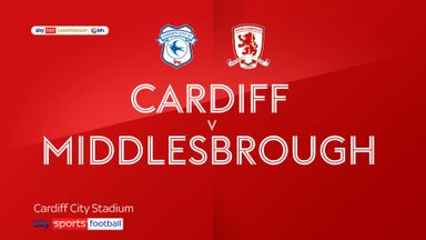 Cardiff 1-1 Middlesbrough