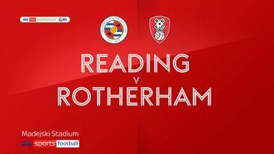 Reading 3-0 Rotherham