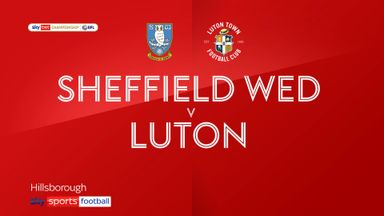 Sheffield Wednesday 0-1 Luton
