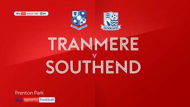 Tranmere 2-0 Southend