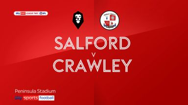Salford 1-1 Crawley