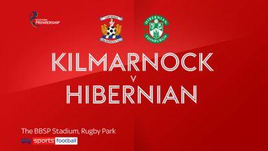 Kilmarnock 0-1 Hibs