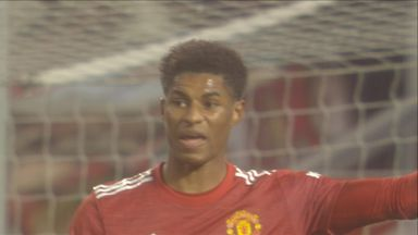 Rashford goes close (35)