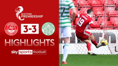 Aberdeen 3-3 Celtic