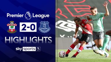 Saints end Everton's unbeaten run