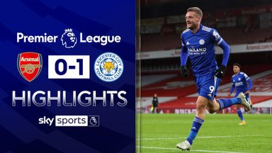 Arsenal sunk by late Vardy strike