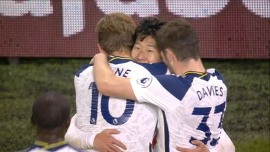 Son's header gives Spurs lead! (76)