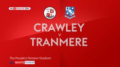 Crawley 4-0 Tranmere