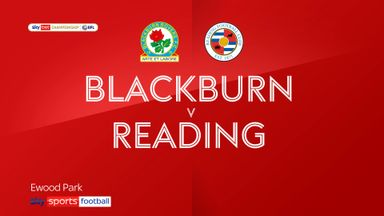Blackburn 2-4 Reading