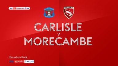 Carlisle 3-1 Morecambe