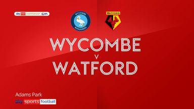 Wycombe 1-1 Watford