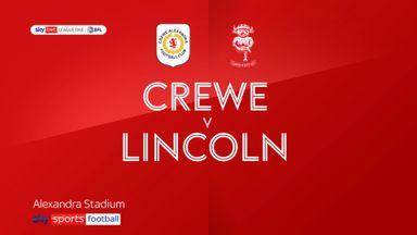 Crewe 0-1 Lincoln