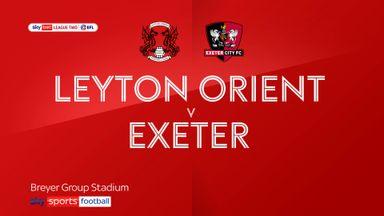 Leyton Orient 1-1 Exeter