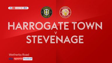 Harrogate Town 0-0 Stevenage