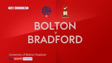 Bolton 1-0 Bradford City