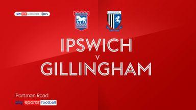 Ipswich 1-0 Gillingham
