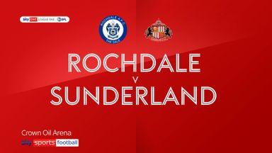 Rochdale 2-2 Sunderland