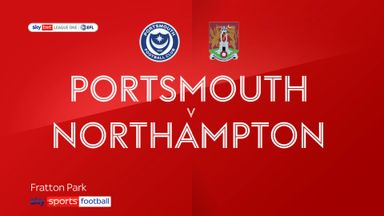 Portsmouth 4-0 Northampton