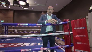 Behind the scenes at Usyk vs Chisora