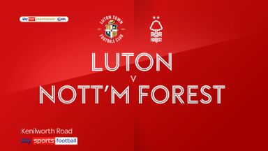 Luton 1-1 Nottingham Forest