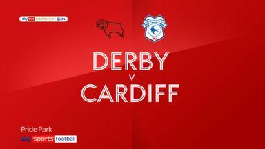 Derby 1-1 Cardiff
