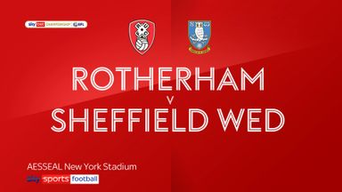 Rotherham 3-0 Sheffield Wednesday