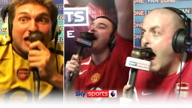 Man Utd v Arsenal: Best FanZone Moments