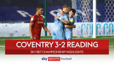 Coventry 3-2 Reading