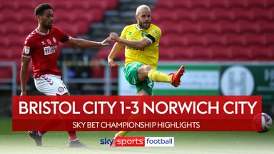 Bristol City 1-3 Norwich