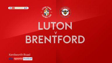 Luton 0-3 Brentford