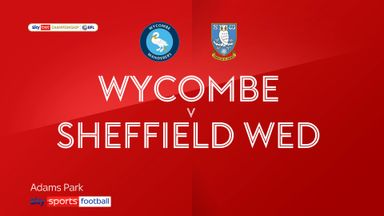 Wycombe 1-0 Sheff Wed