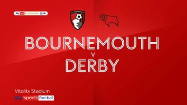Bournemouth 1-1 Derby