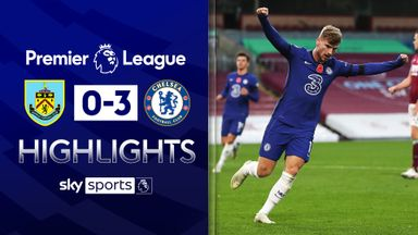 Werner on target as Chelsea cruise past Burnley