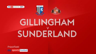 Gillingham 0-2 Sunderland