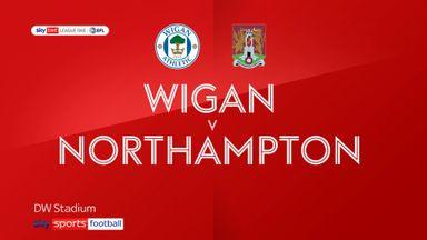 Wigan 2-3 Northampton
