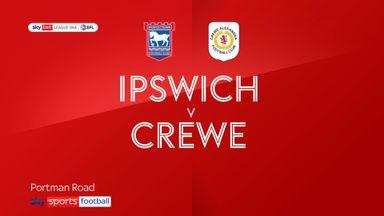 Ipswich 1-0 Crewe