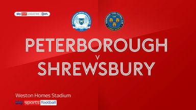 Peterborough 5-1 Shrewsbury