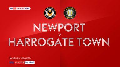 Newport 2-1 Harrogate