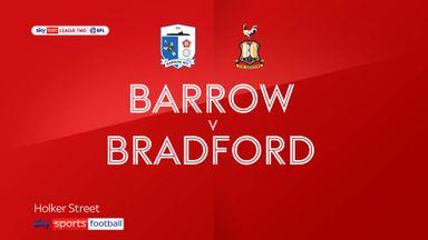 Barrow 1-0 Bradford