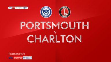Portsmouth 0-2 Charlton