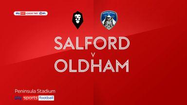 Salford 2-0 Oldham