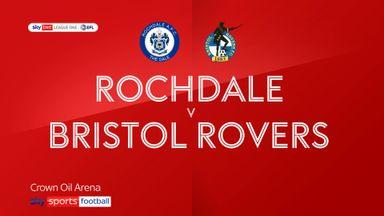 Rochdale 1-1 Bristol Rovers