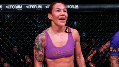 Cyborg open to crossover fight with Taylor