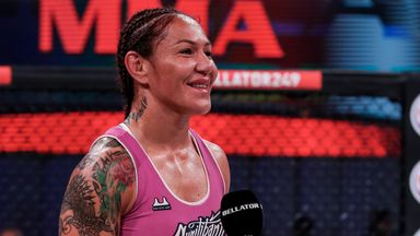 Cyborg ready for the next challenger
