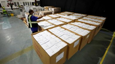 Donald Trump has said mail-in ballots lead to election fraud, but more this year will likely be using the service